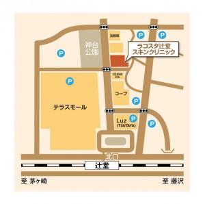 地図 ラコスタ辻堂スキンクリニック-1